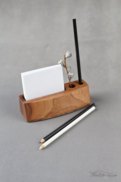 Image of Small desk organizer