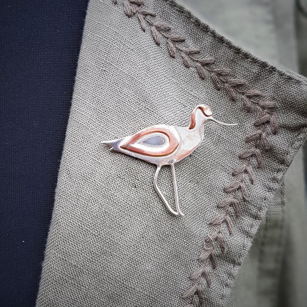 Image of Avocet Lapel Tack