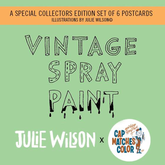Image of Julie Wilson Illustration | Collectors Edition Postcards