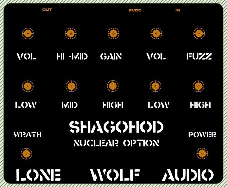 Image of SHAGOHOD - Nuclear Option Pre-sale