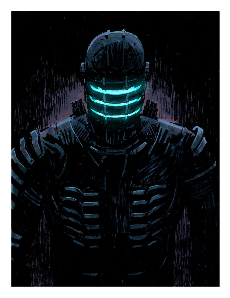 Image of DEAD SPACE Giclée Print