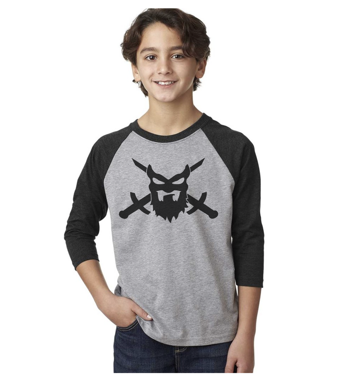 "Image of ""KIDS RAGLAN""  Unisex"