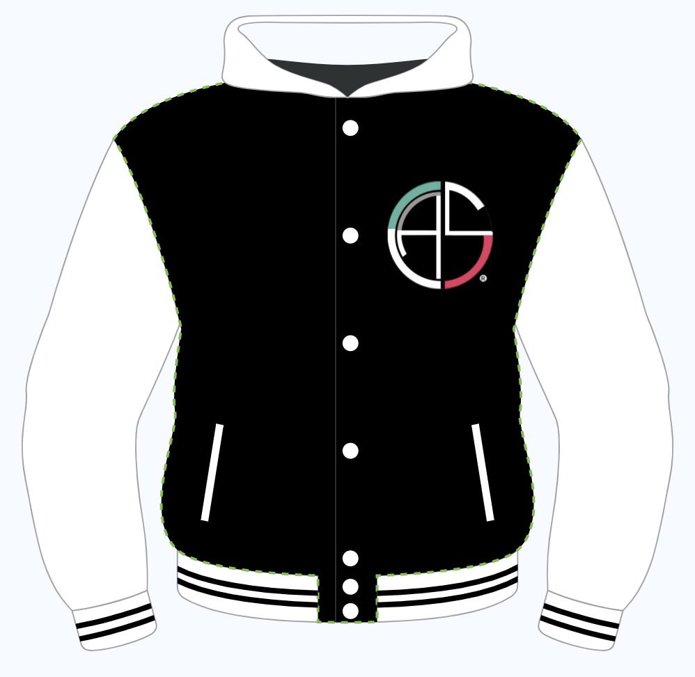 Image of C.A.S. Letterman Jacket