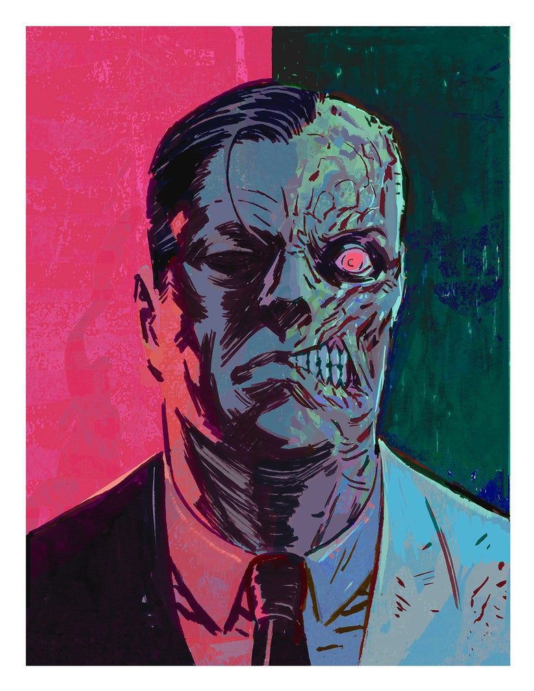 Image of TWO FACE Giclée Print