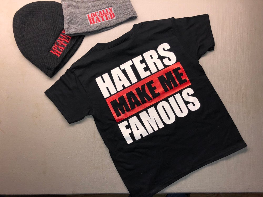 Image of Kids Haters Make Me Famous t-shirt
