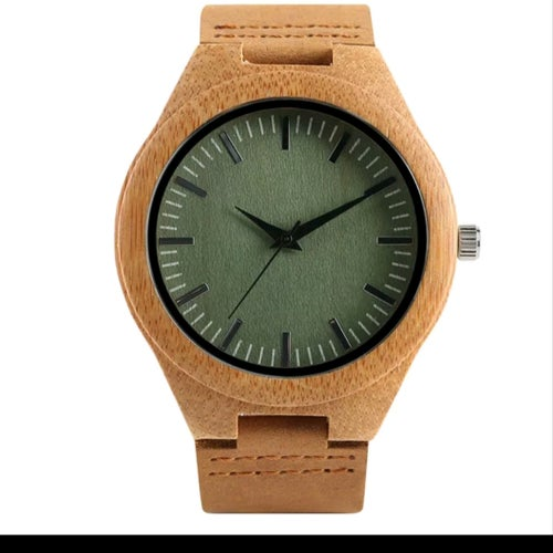Image of SAND & SAGE WOODEN WATCH