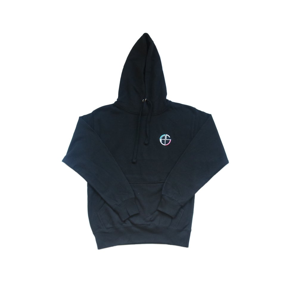 Image of C.A.S. Black Pullover Hoodie