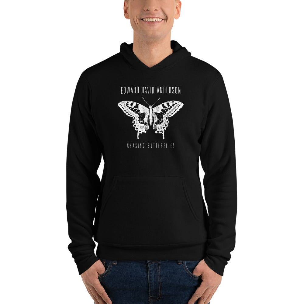 Image of Butterfly Hoodie (Black or Grey)