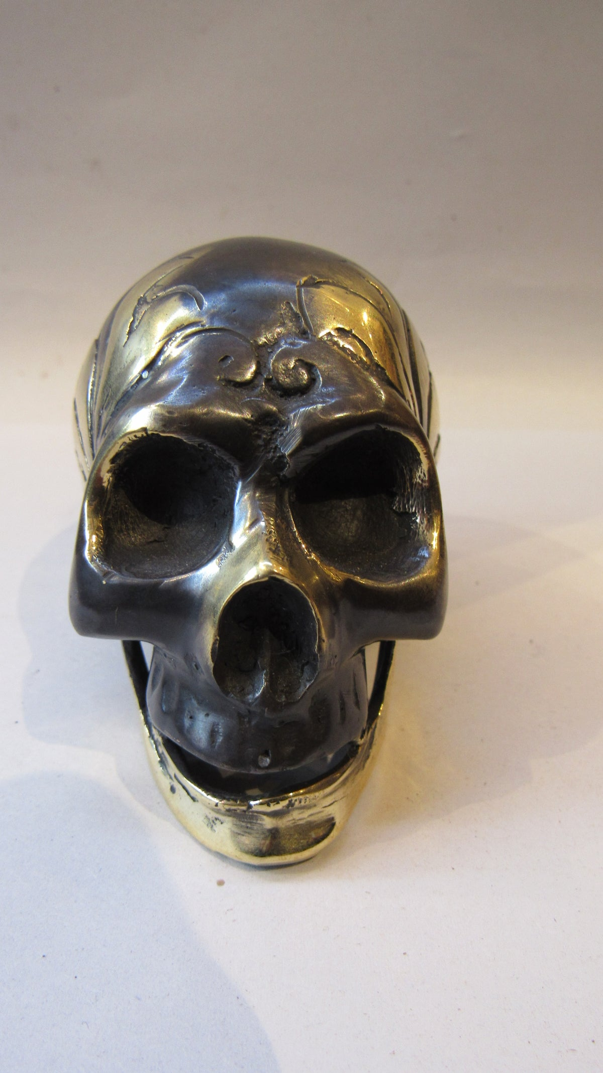 Image of Bronze Decorative Skull