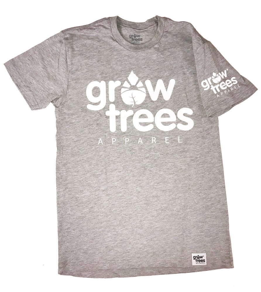 Image of Grow Trees Original (Heather Gray with White)