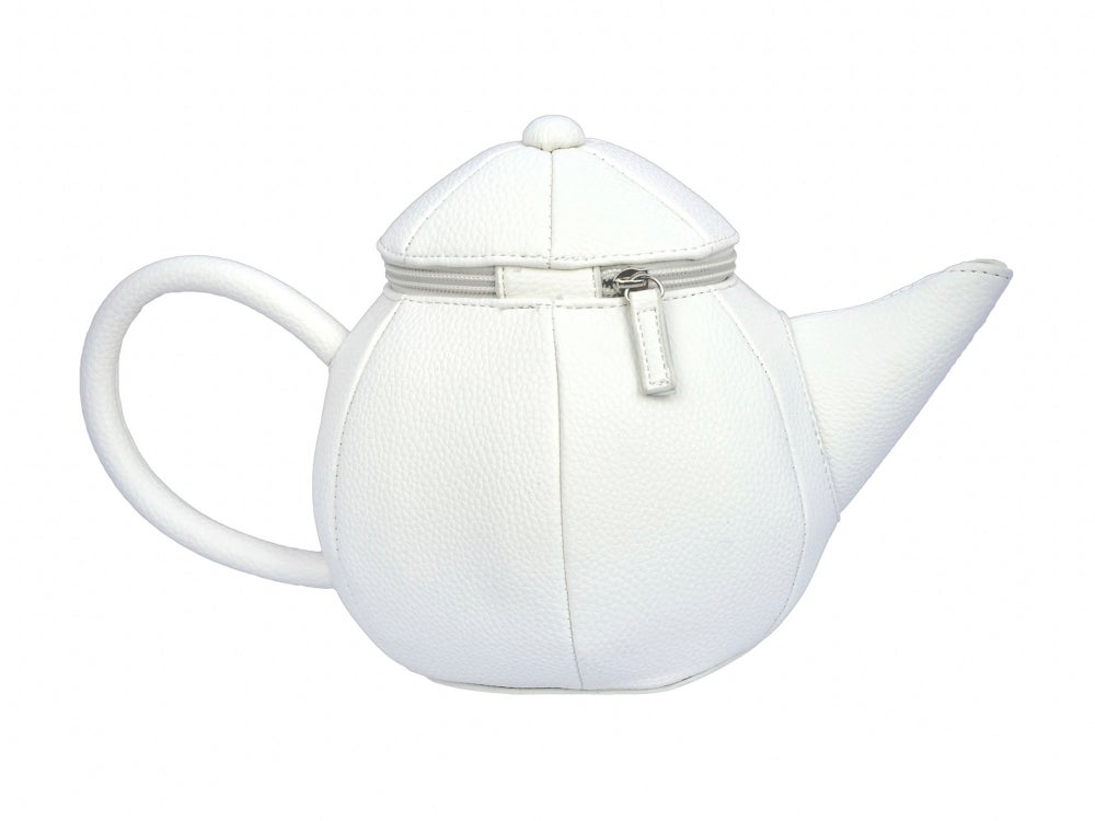 Image of Vegan Leather Teapot Clutch (2 colors)
