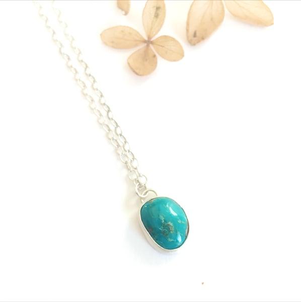 Image of Kingman Turquoise pendant