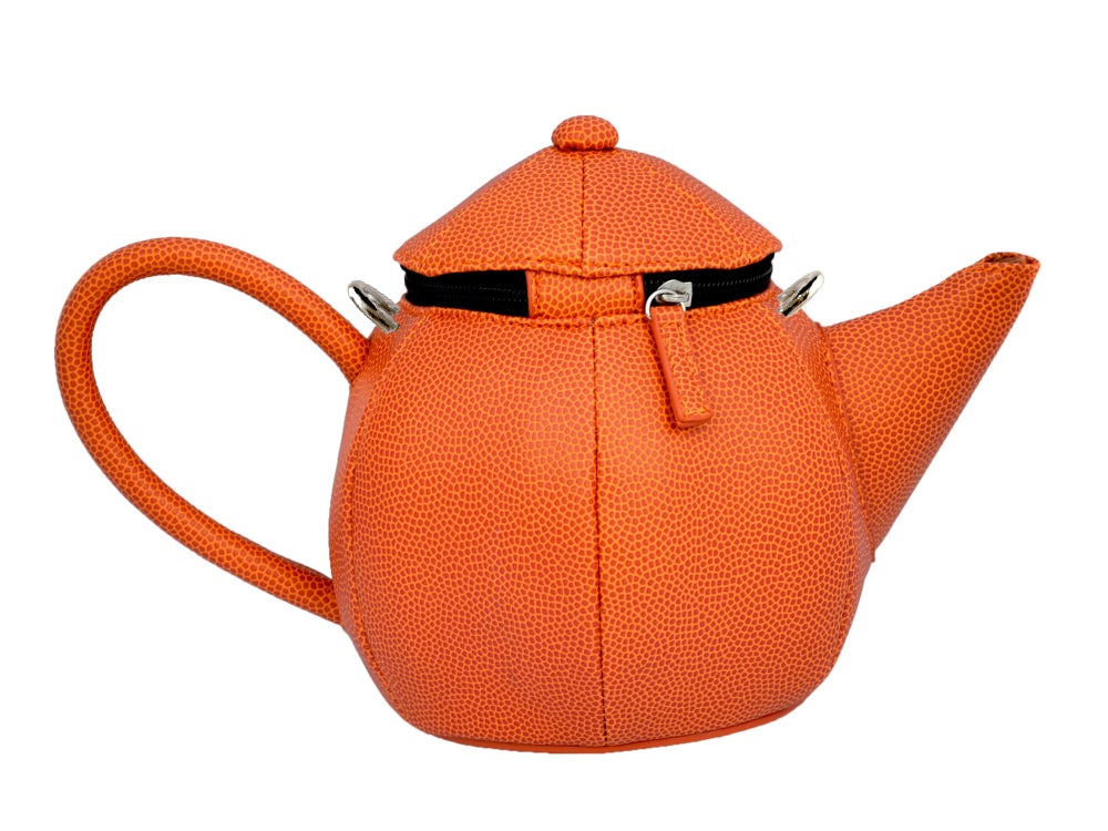 Image of Rubber Round Teapot Crossbody (3 colors)