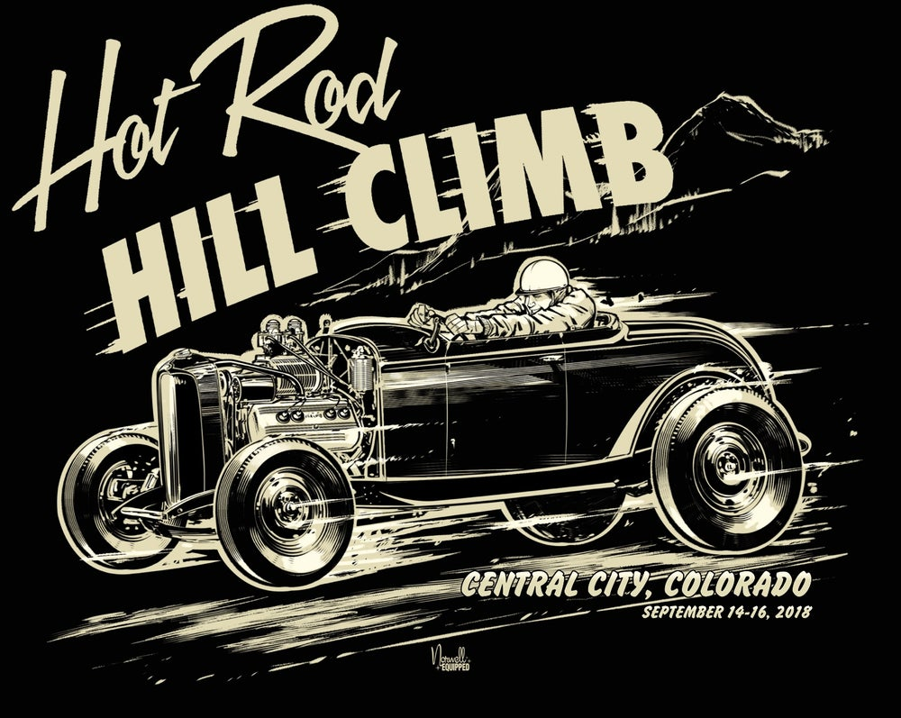 Image of Hot Rod Hill Climb Hoodies