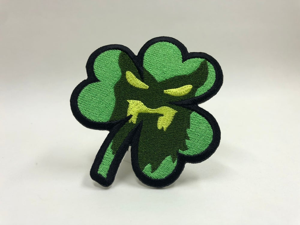 "Image of "" SHAMROCK "" Collectible Patch"