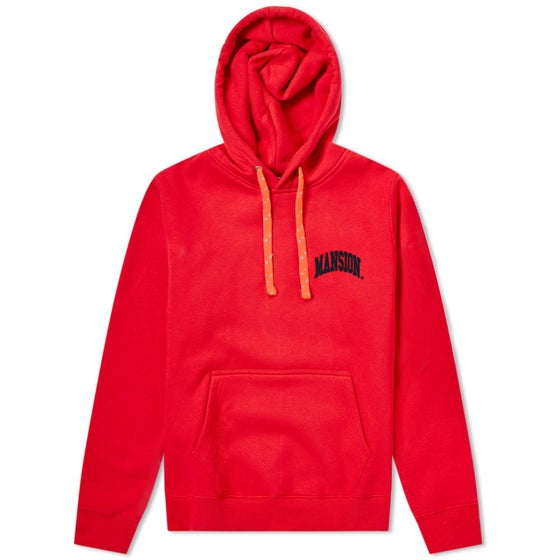 Image of Mansion Hoodie Red