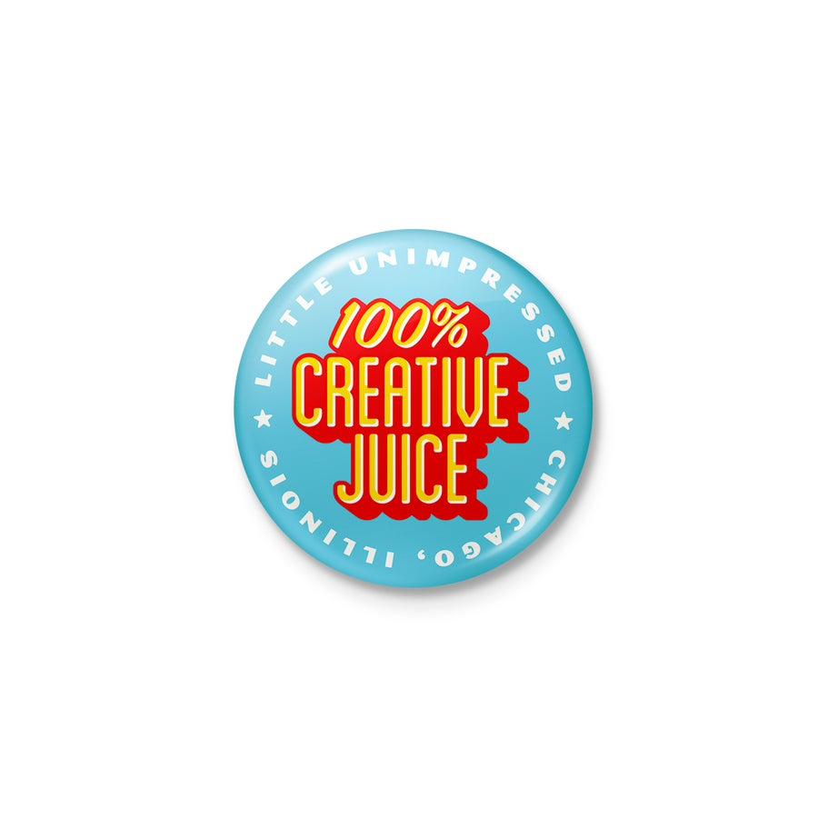 "Image of Creative Juice .75"" Button"