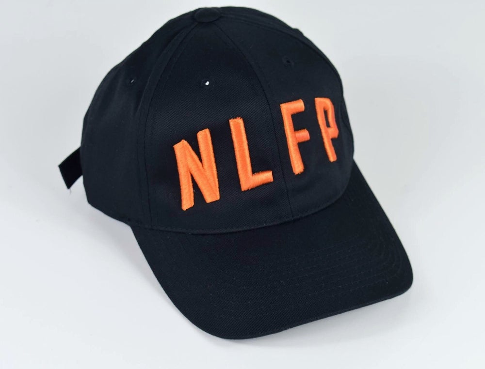 Image of SIGNATURE HAT  BLACK / ORANGE