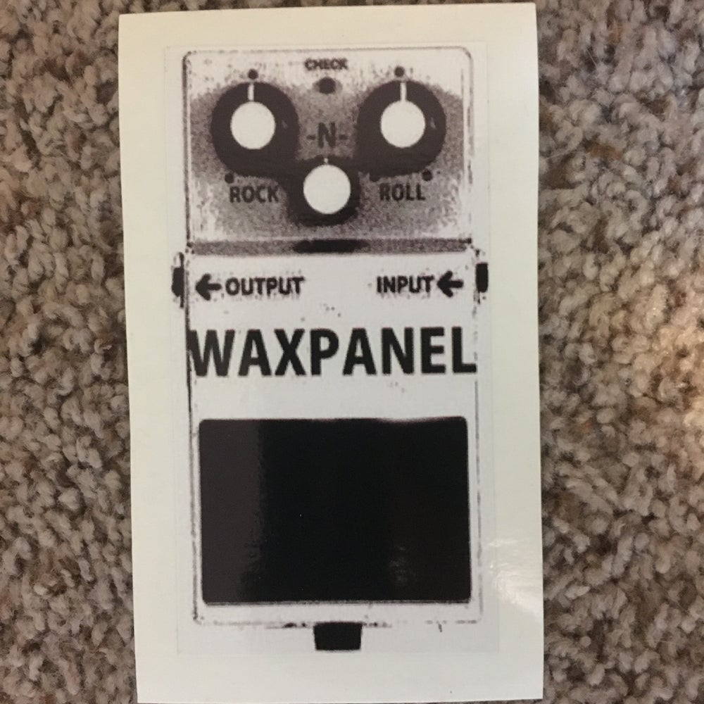 Image of WAXPANEL Pedal sticker