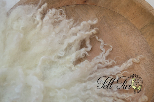 Image of PRE ORDER All sizes/ colours. CURLY Fur Felted Rug. {303} Newborn Photography Posing Prop. Pick colo