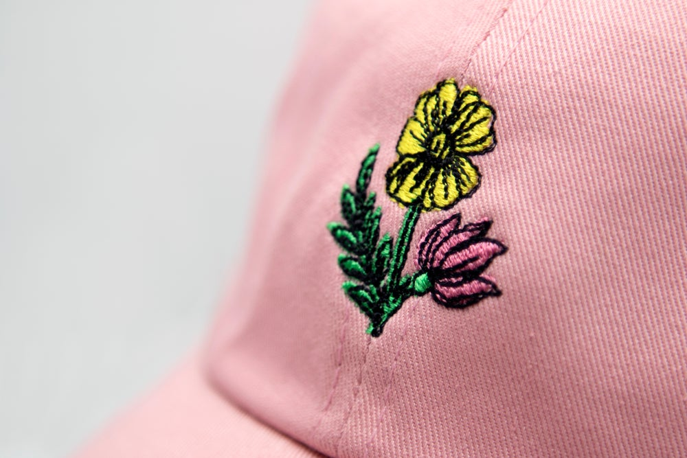 Image of Wild Flowers Dad Hat
