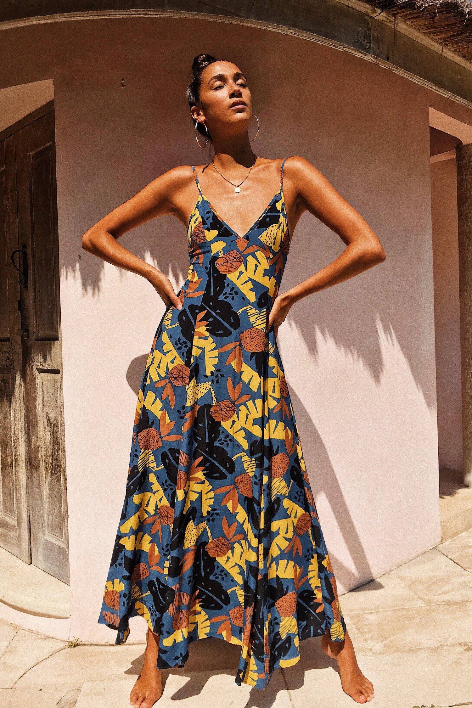 Image of VERADO MAXI DRESS - COCOBANA