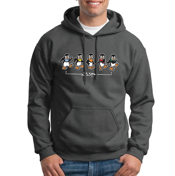 "Image of Unisex ""Dancin' Penguins"" hoodie"