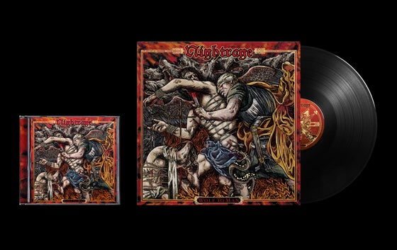 Image of NIGHTRAGE - Wolf To Man BEAST Package  CD/VINYL