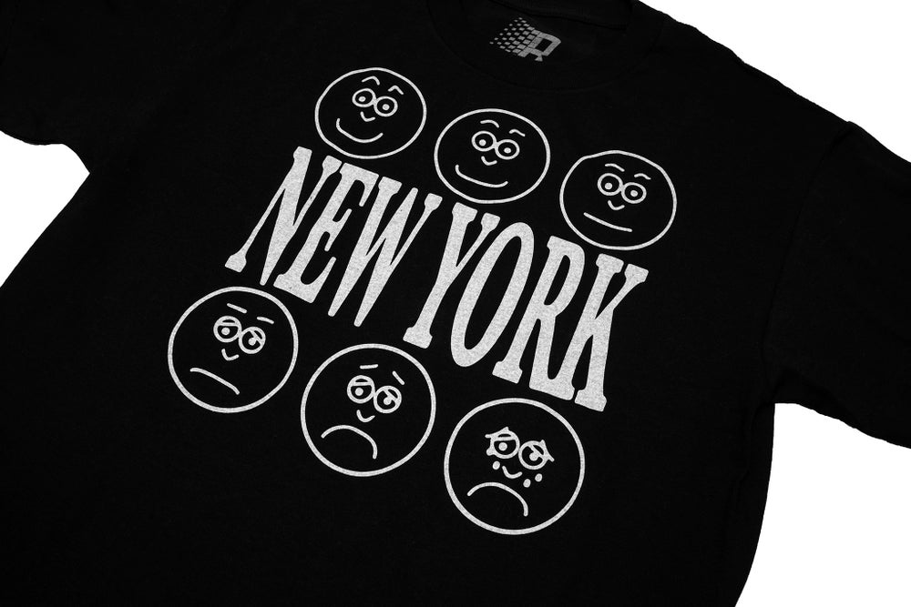 Image of LEVELS OF NEW YORK TEE BLACK