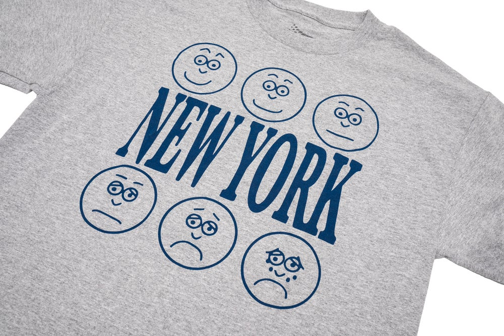 Image of LEVELS OF NEW YORK TEE GREY