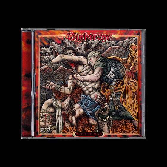 Image of Nightrage - Wolf To Man (CD Jewel Case)