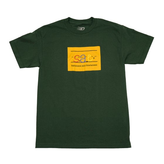 Image of SAE TEE FOREST GREEN