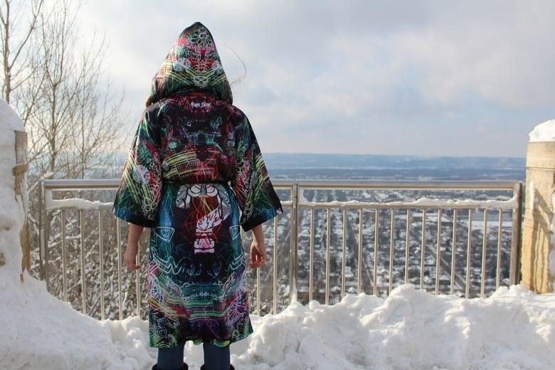 Image of Papa Bear - Spectral Flux Kimono