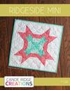 Ridgeside Mini Quilt #124, PDF Pattern