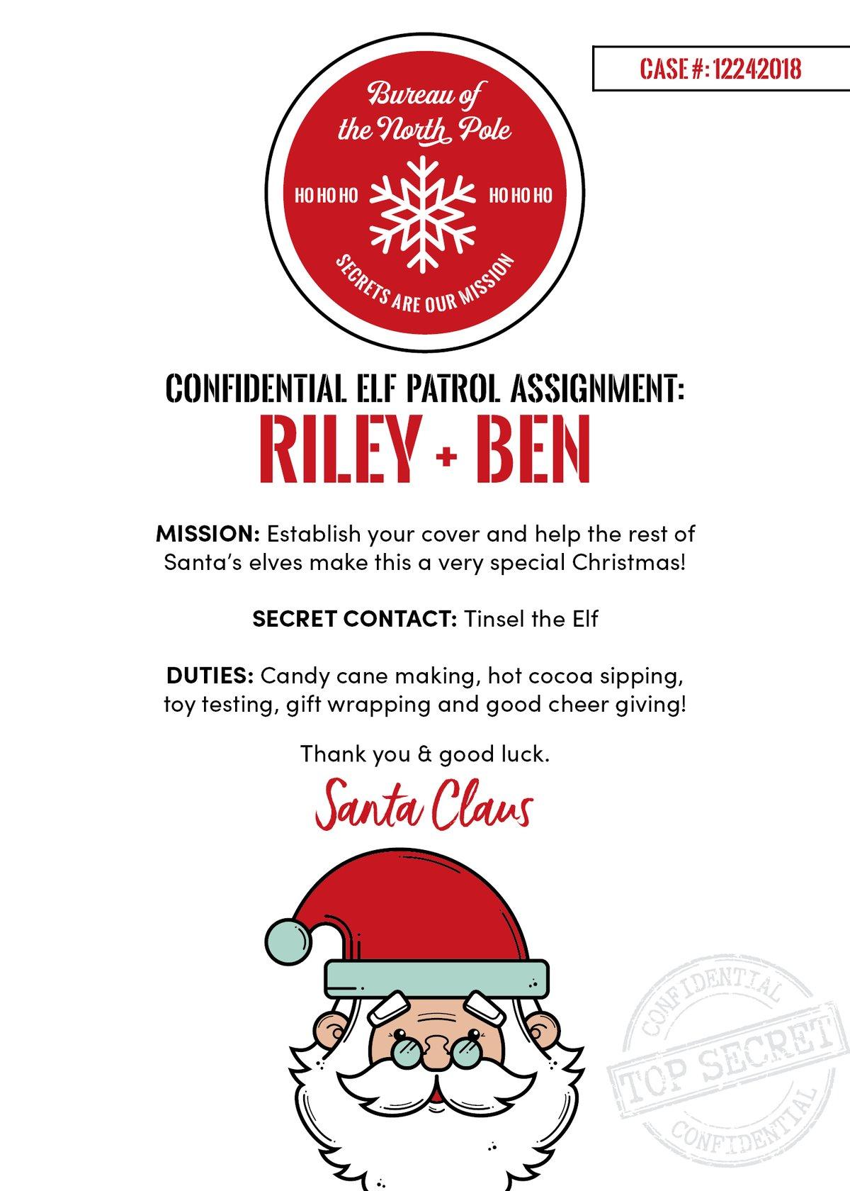 Elf Patrol Christmas Cards