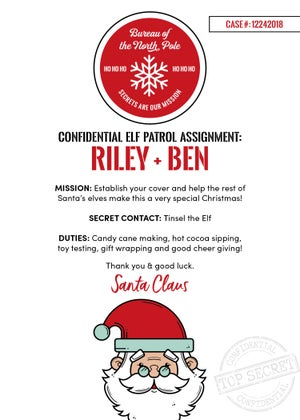 Image of Elf Patrol Christmas Cards