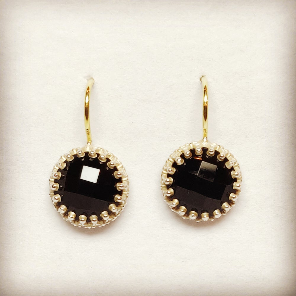 Beeld van Black Royal earrings
