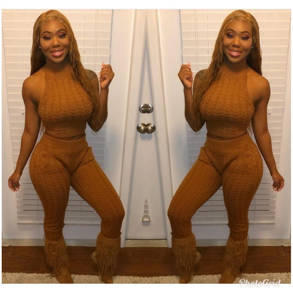Image of Halter Top and Legging Set