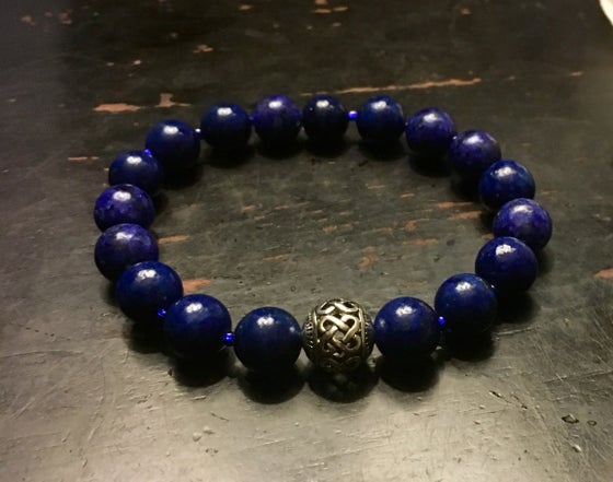 Image of Men's Lapis Bracelet