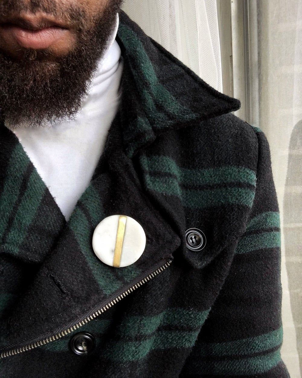 MINIMALIST MARBLE |  LUXURY LAPEL PIN