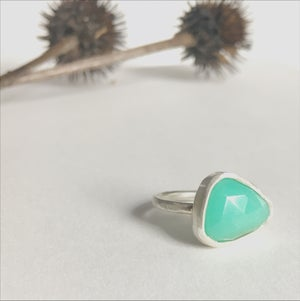 Image of Chrysoprase Ring