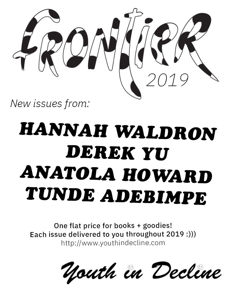 Image of Frontier 2019 Subscription