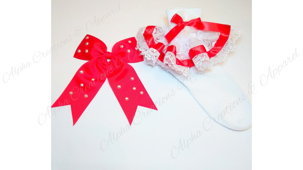 Image of Red & White Holiday Set