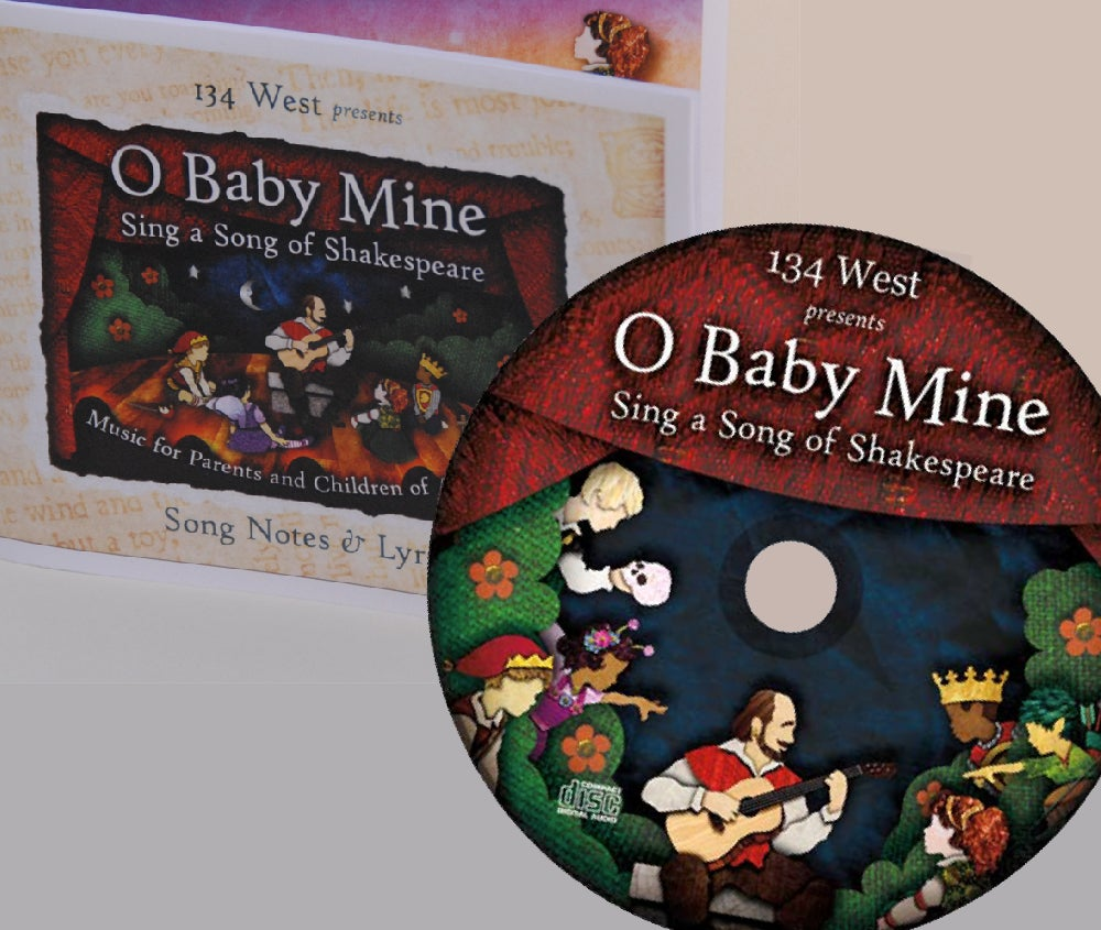 Image of O Baby Mine CD and Lyric Booklet