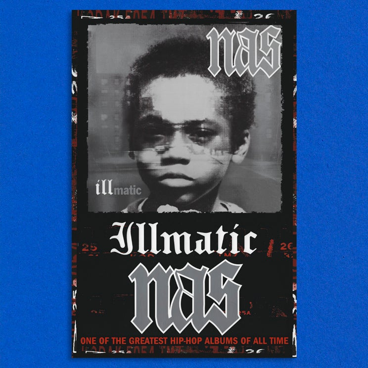 "Image of Nas ""Illmatic"" 11x17"" Poster"