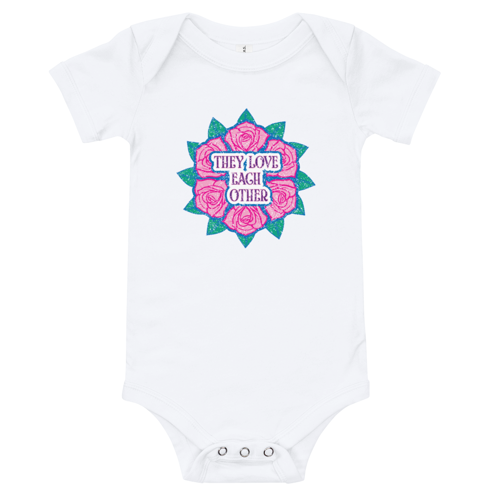 They Love Each Other Baby Jersey Onesie!