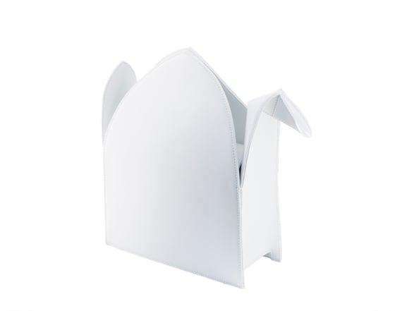 Image of Premium Leather Origami Crane Purse