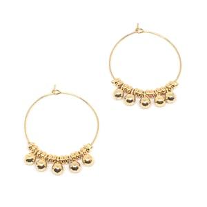Image of BELLA hoop earrings