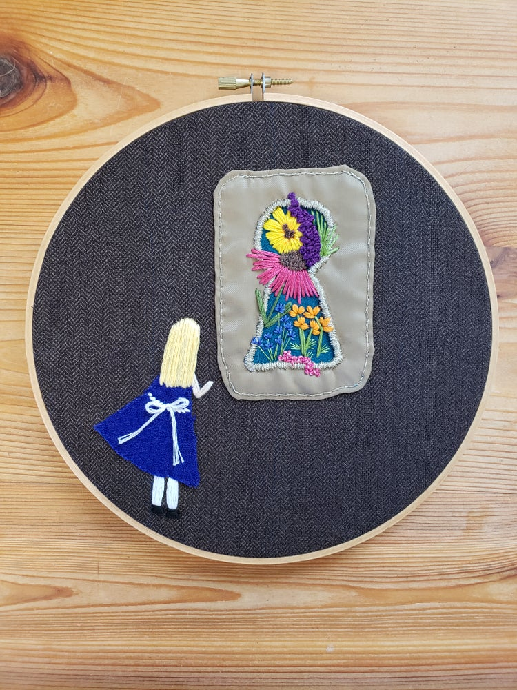 Image of Through the Key Hole - Alice's Adventures in Wonderland Series