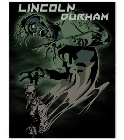Image of SIGNED Inner Demon Print Illustrated by Lincoln Durham